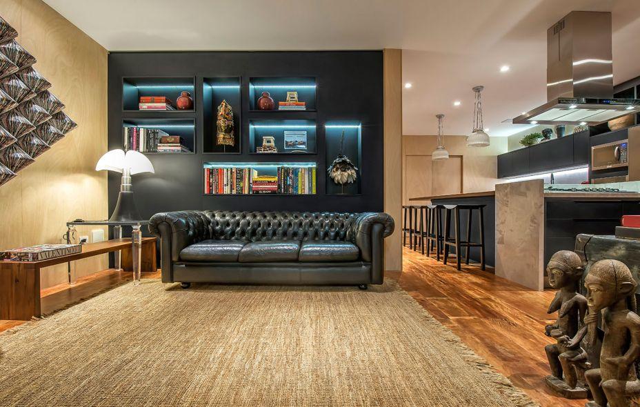 Cozinha Living Bar - Carlos Navero