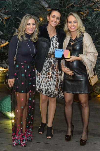 Fernanda Consonni, Nathália Mendes e Priscilla Borges