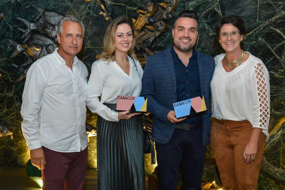 Luiz Bernardo, Ana Claudia Guerra, Phillippi Siarcos e Francis Bernardo