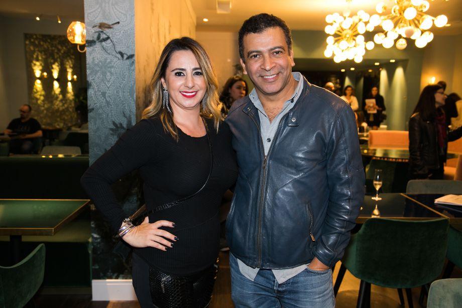 Patricia Genoveze e Pedro Ariel