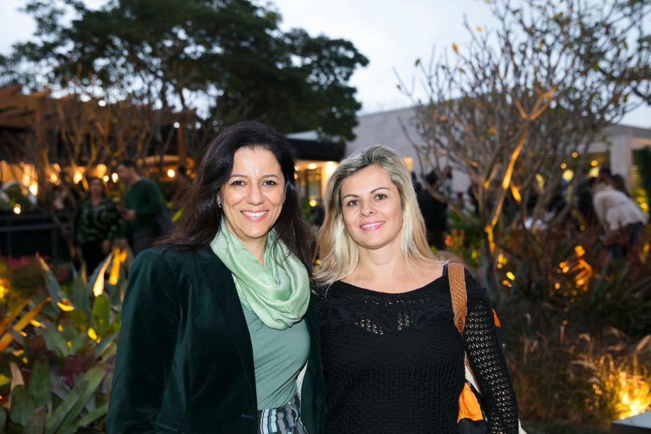 Cleide Gomes e Cida Rogiero