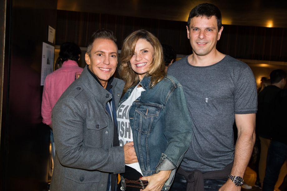 Francisco Calio, Angie Guarnieri e Eugenio Palazzi