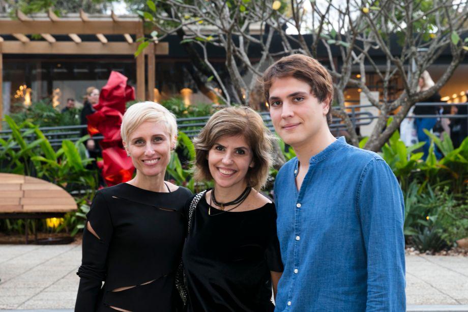 Alessandra Estelles, Liliane Assaf Faria e Paulo Azevedo