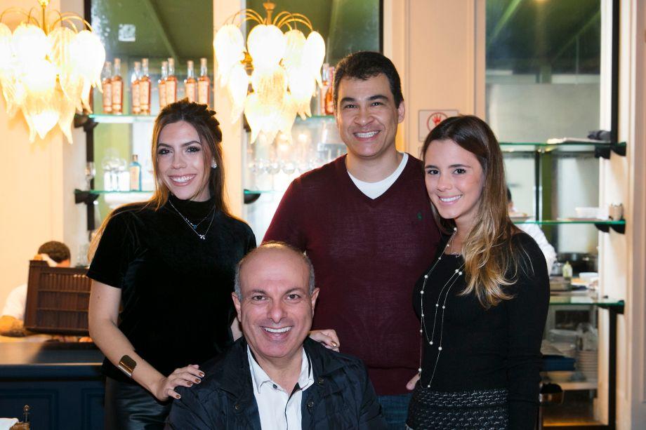 Livia Migotto, Gustavo Tavares, Fabiana Dinelli Maramaldo e Ali Majzoub