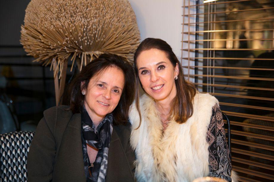 Patricia Quentel e Esther Schattan