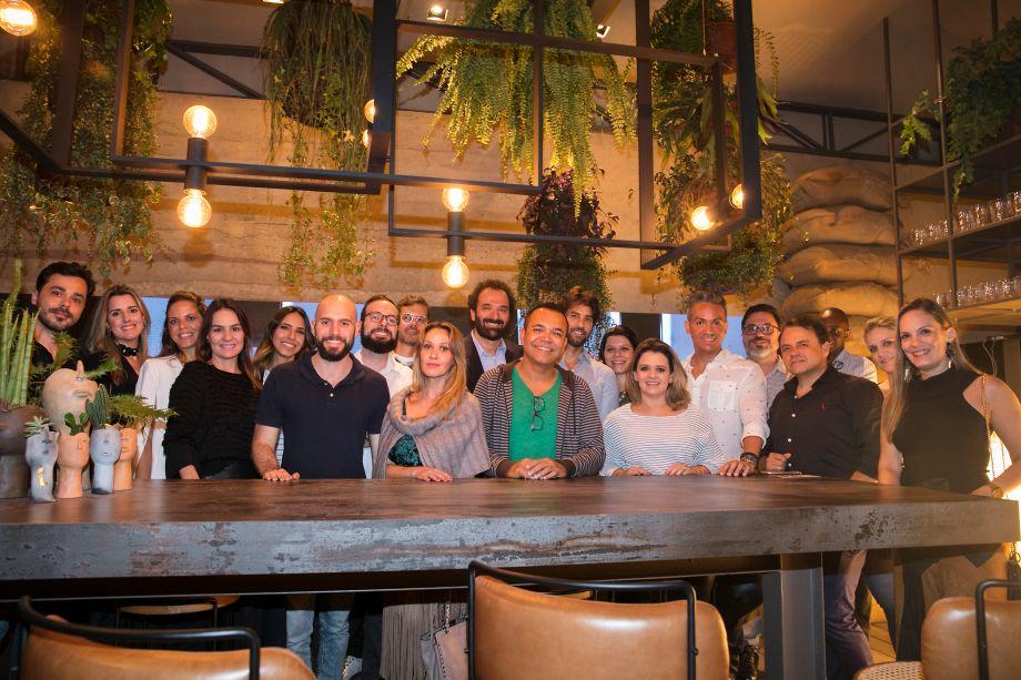 Grupo de Recife com Rui Dzialoschinsky