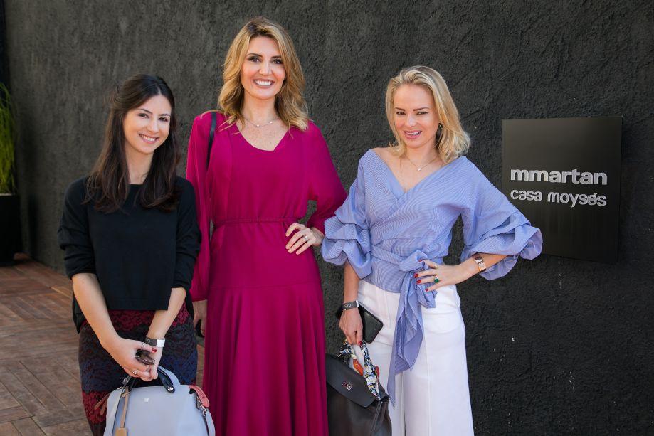 Marcela Caio, Gabriela Rodrigues e Marina Xando