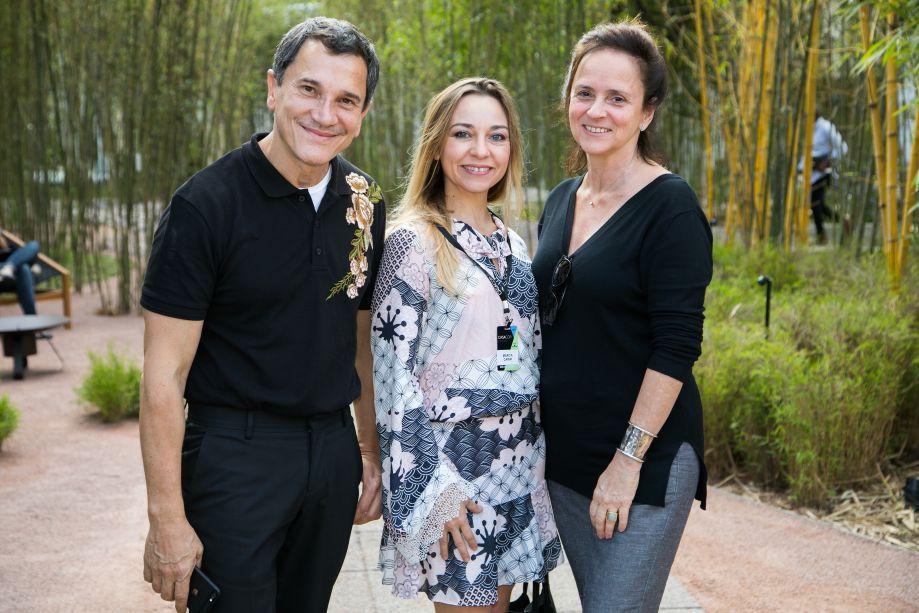 Almir Soares, Marcia Carini e Patricia Quentel