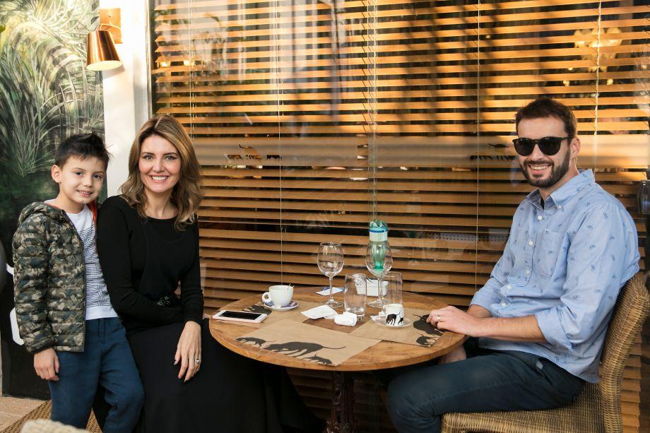 Gabriela Rodrigues e família