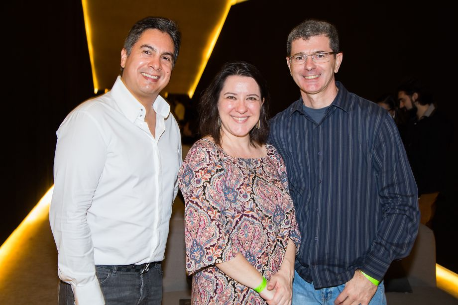 Rodrigo Vieira, Dani Ardito e Wilson Jiacomini
