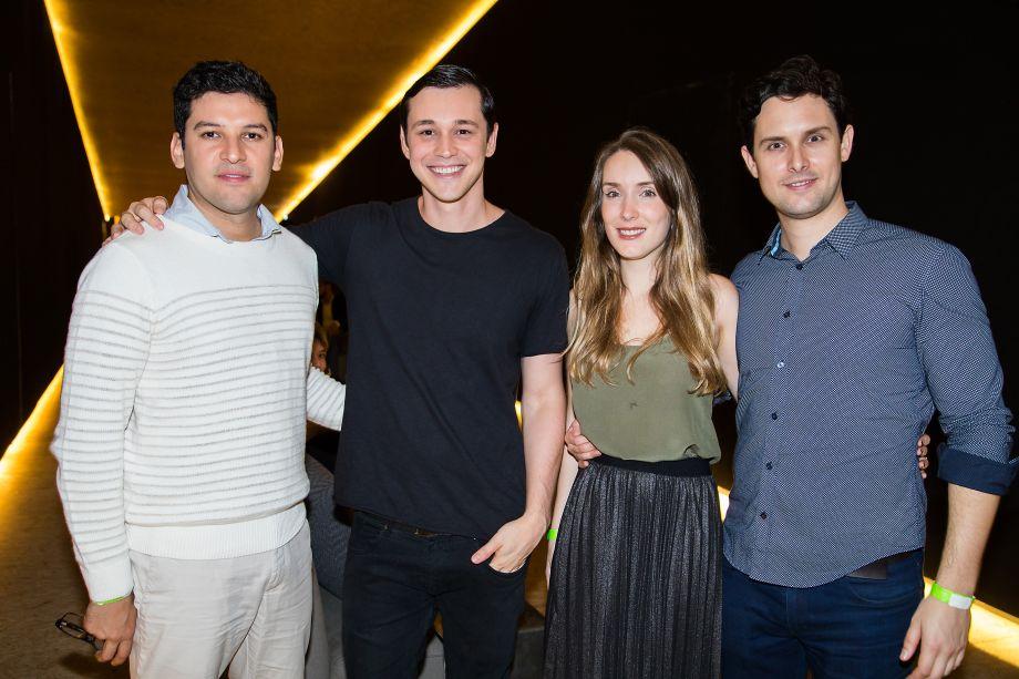 Rodrigo Oliveira, Joao Amaral, Flávia Romi Campos e Francisco Oliveira