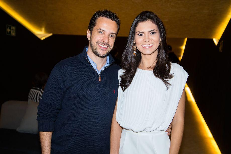 Eduardo Carvalho e Camila Neves