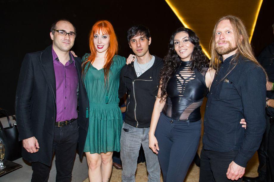 Gustavo Petinati, Sabrina Mesquita, Caio Ramos, Helen Galan e Daniel Viberg