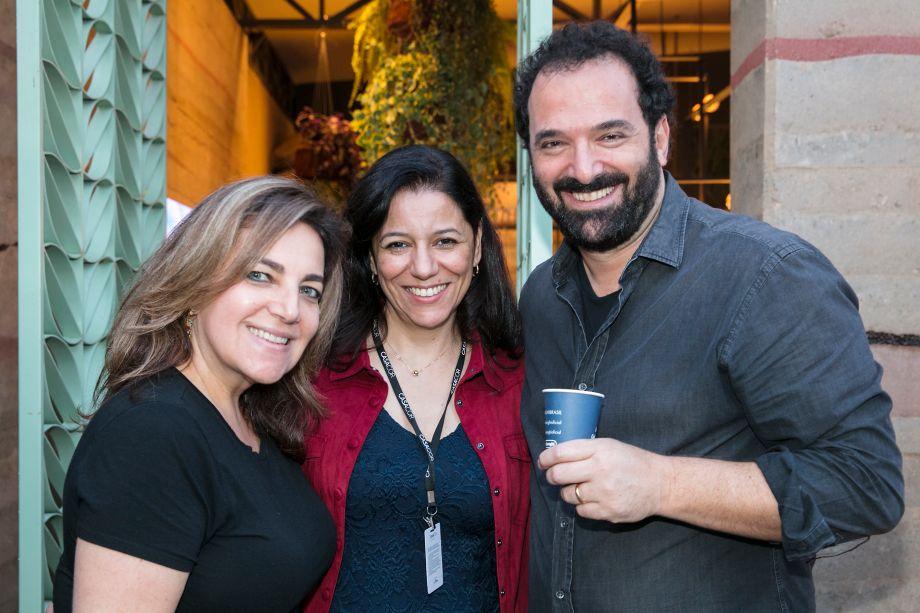 Sandra Dzialoschinsky, Cleide Gomes e Rui Dzialoschinsky