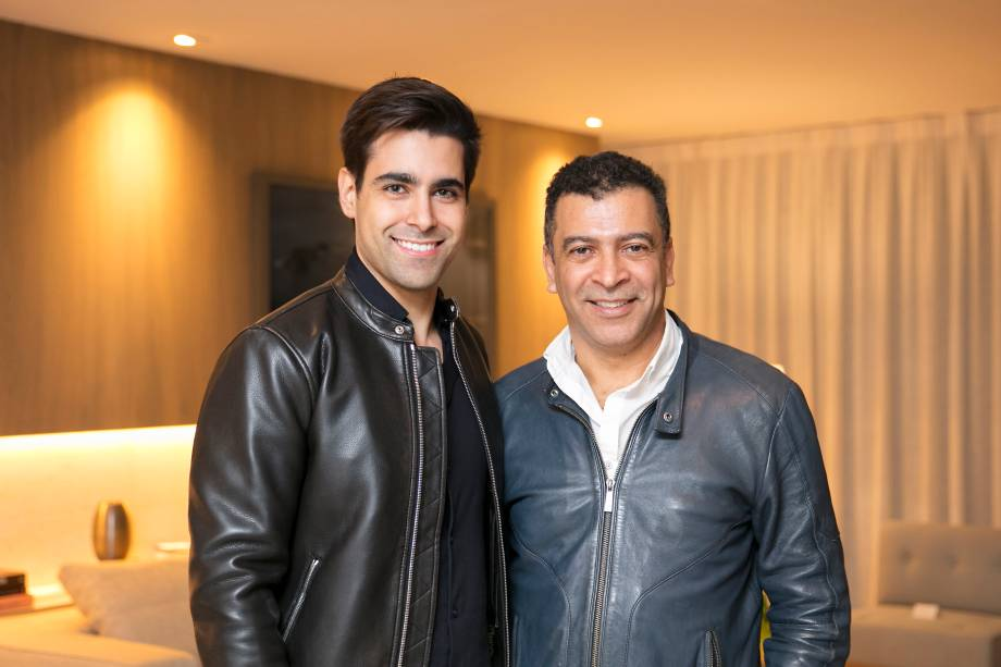 Pedro Ariel Santana e Alexandre Del Fabbro