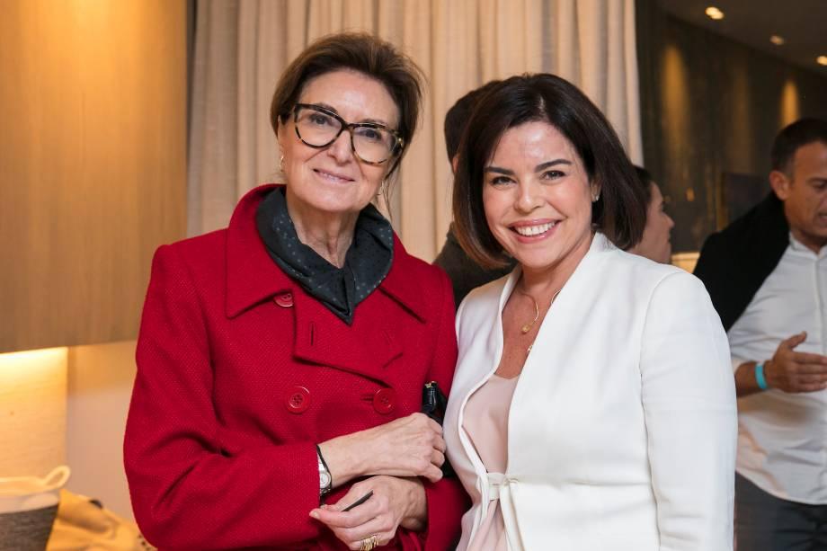 Cris Ferraz e Renata Dal Fabbro