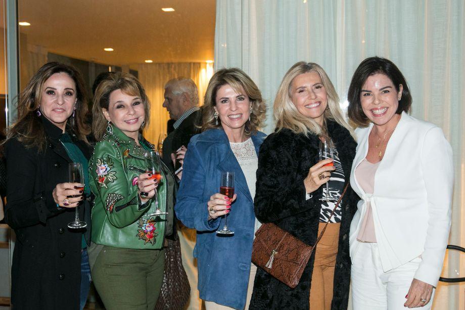 Deborah Bueno, Cristina Lobosque, Lilian Baptistella, Sonia Previato e Renata Dal Fabbro