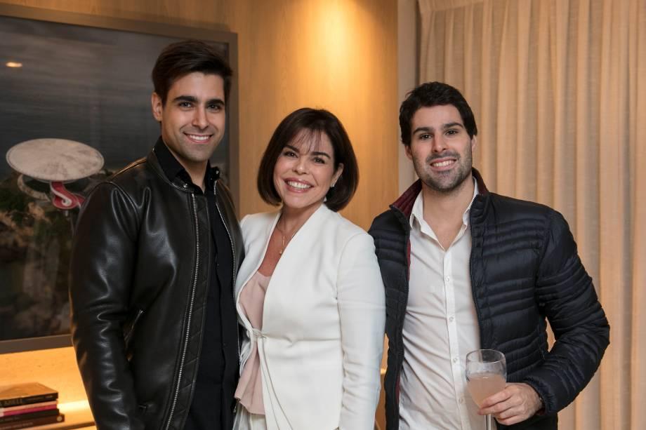 Alexandre Dal Fabbro, Renata Ferraz e Felipe Ferraz