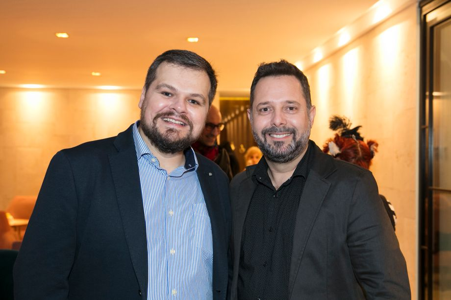 Thiago Luposeli e Marcelo Cassettari