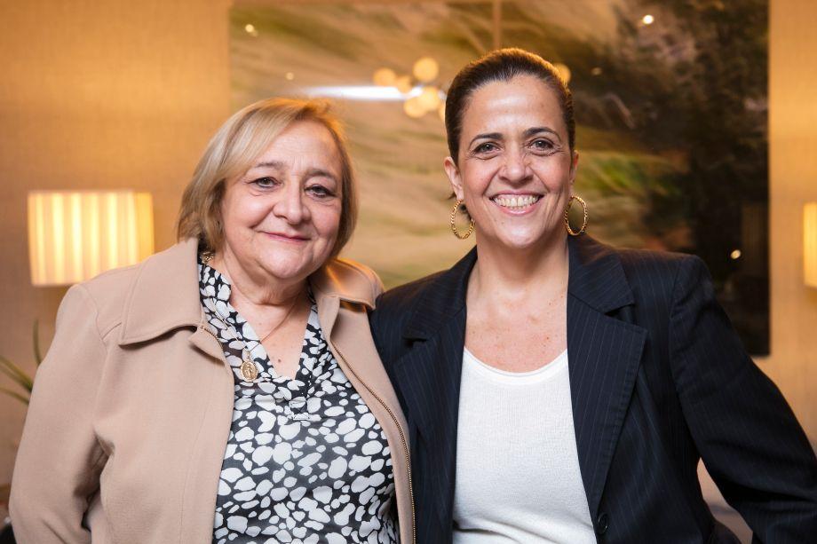 Marli Donatelli e Paula de Lima Azevedo