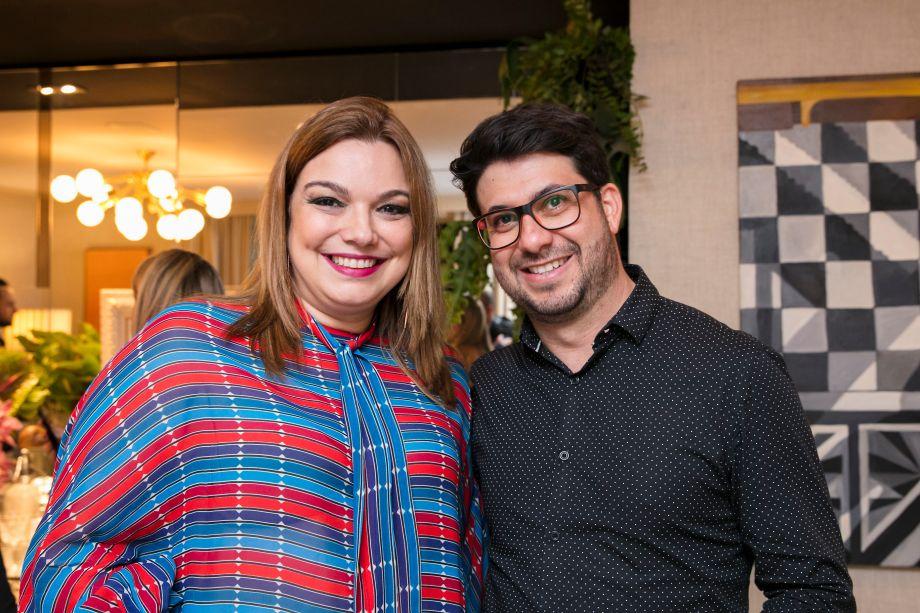Fernanda Varela e Julio Naves