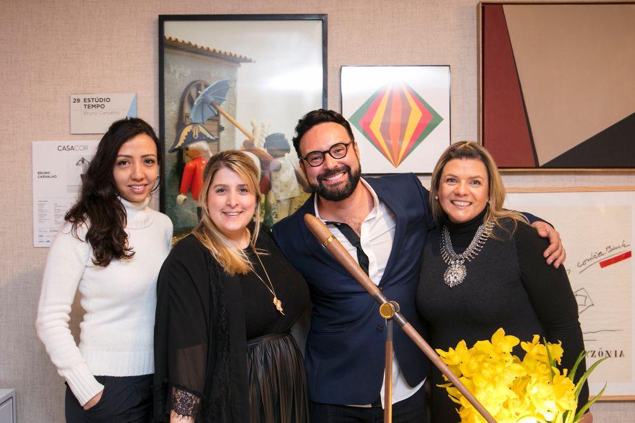 Natália Candelária, Adan, Bruno Carvalho e Giselle Martos