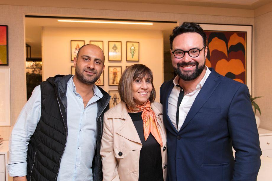 Amir Shahrouzi, Eliane Freire e Bruno Carvalho