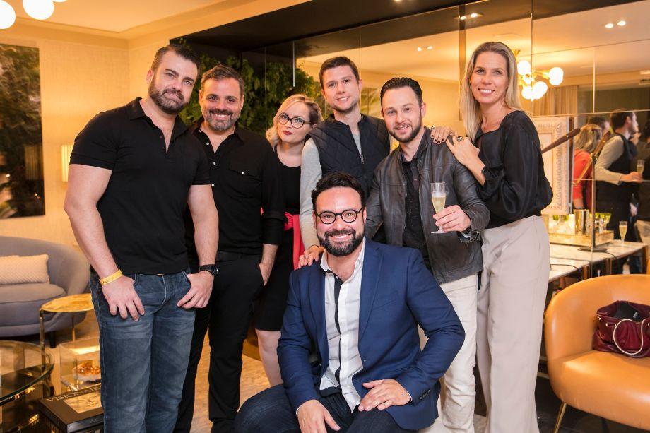 Martin Gonzales, Eugenio Tonelli, Daniela Ordones, Rodrigo Maciel, André Suhanov, Tuca Benetti e Bruno Carvalho