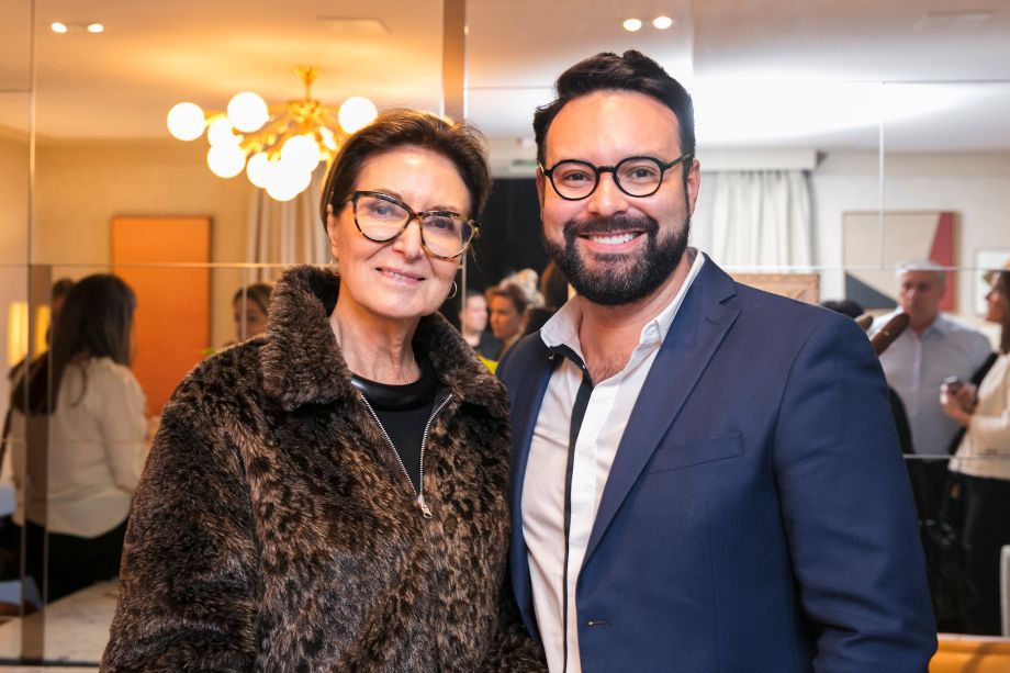 Cristina Ferraz e Bruno Carvalho