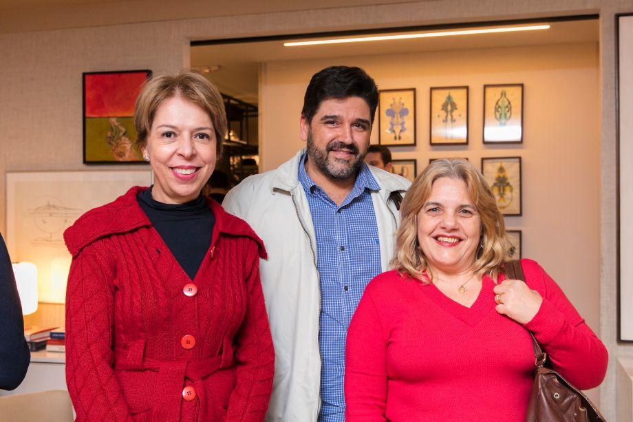 Rosangela Garcia, Darlan Firmato e Rita Piloto