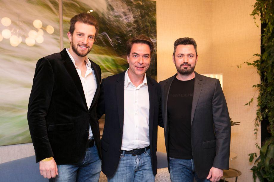 Fernando Dal Bosco, Marcelo Felmanas e Erval Borghi