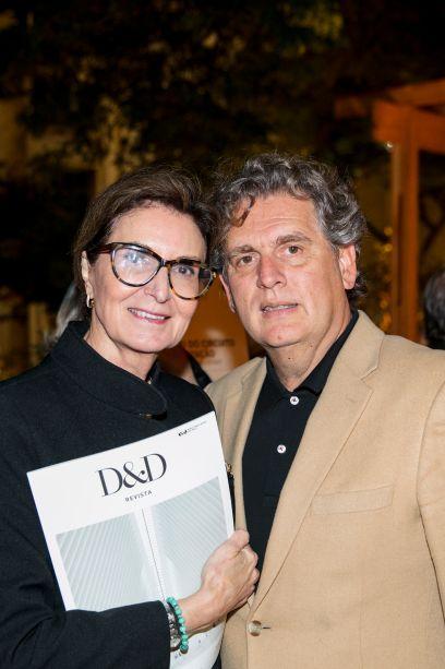 Cristina Ferraz e Angelo Derenze