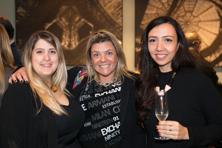 Jéssica Adan, Giselle Martos e Nathália Candelaria