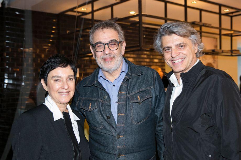 Livia Pedreira, Sergio Zobaran e Alex Stevens