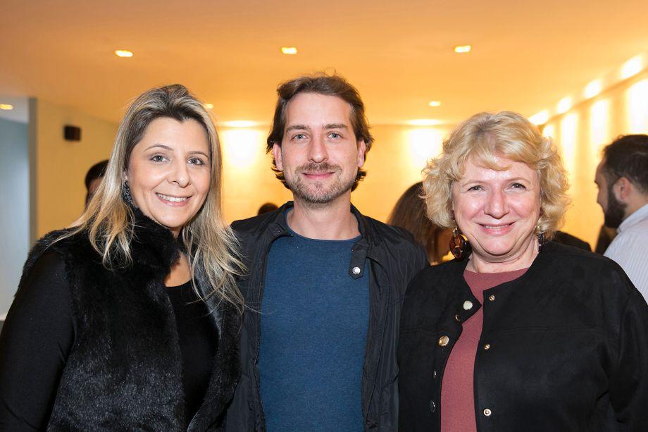 Danieli Mastropietro, Adriano Vallim e Cristina Moraes