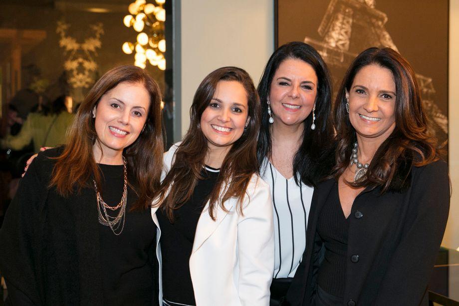 Carina Dal Fabbro, Angelica Alves, Norah Carneiro e Debora São José