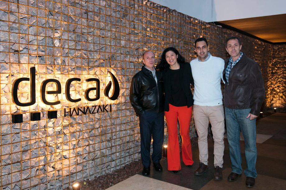 Fernando Castanho, Michela Sakihama, Raphael Siloto e Andre Brasile