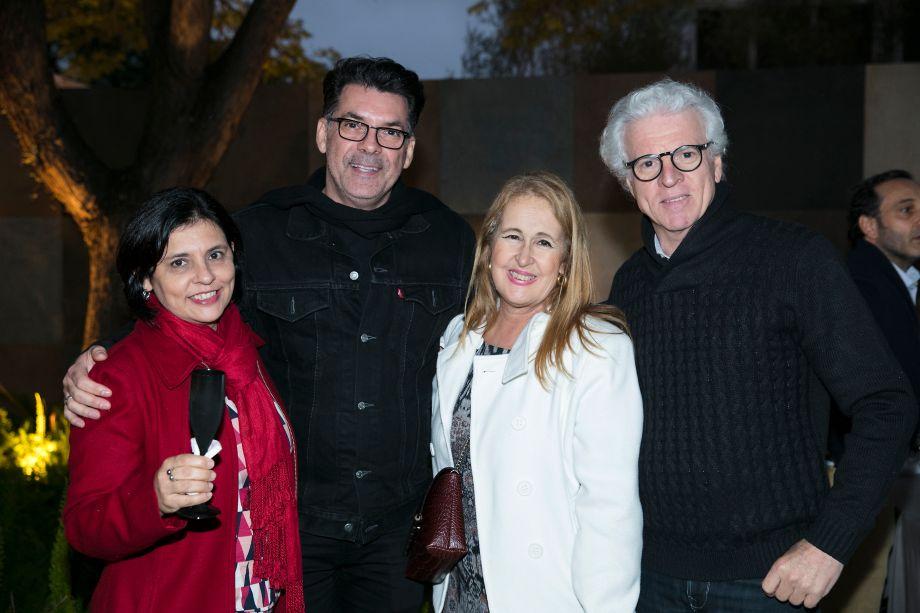 Lucia França, Neto Porpino, Paula Tenorio e Roberto Amadio