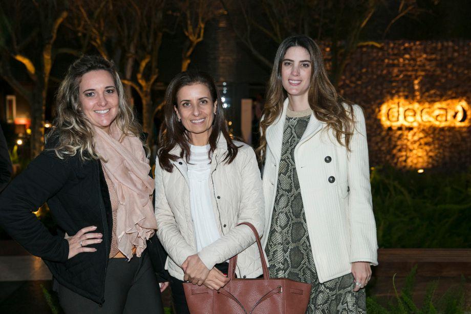 Daniela Colnaghi, Alexandra Cabral e Leticia Ruivo