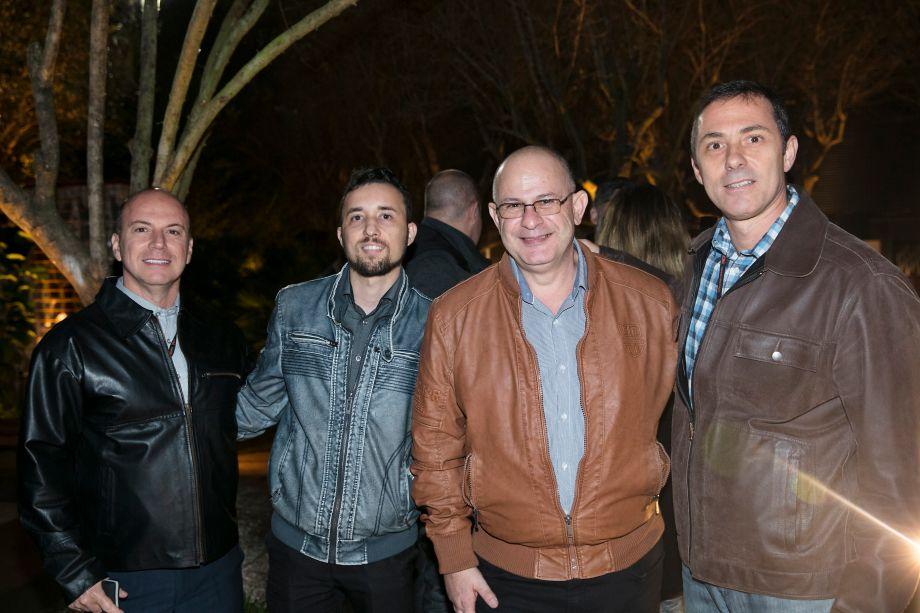 Fernando Castanho, Reginaldo Fuzatto, Julio Vignoli e Andre Brasile