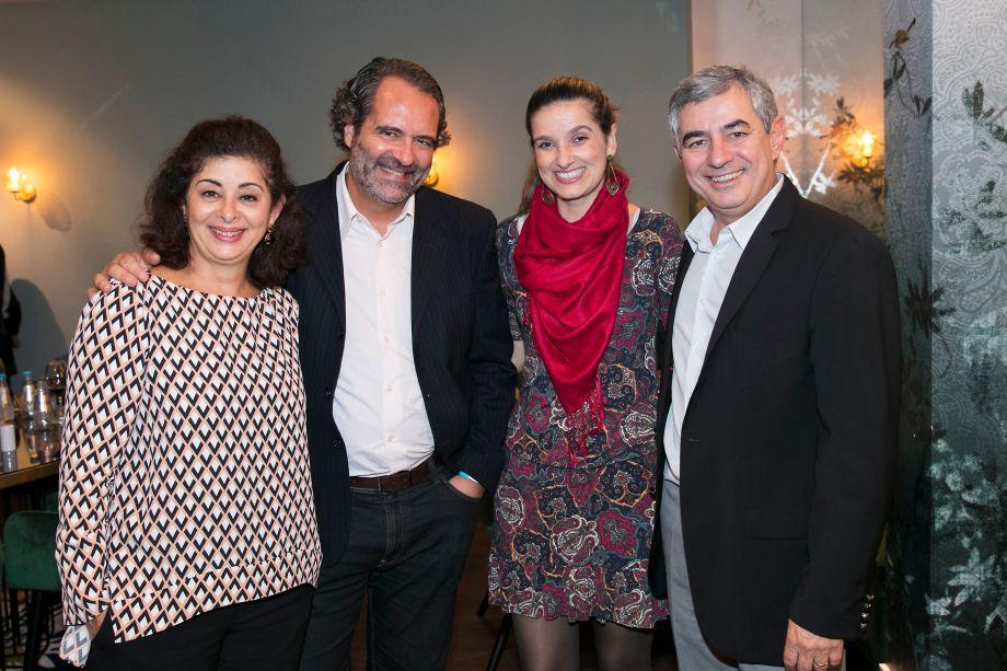 Renata Braga, Henrique Marcondes, Viviane Ribeiro e Antonio Zampiere