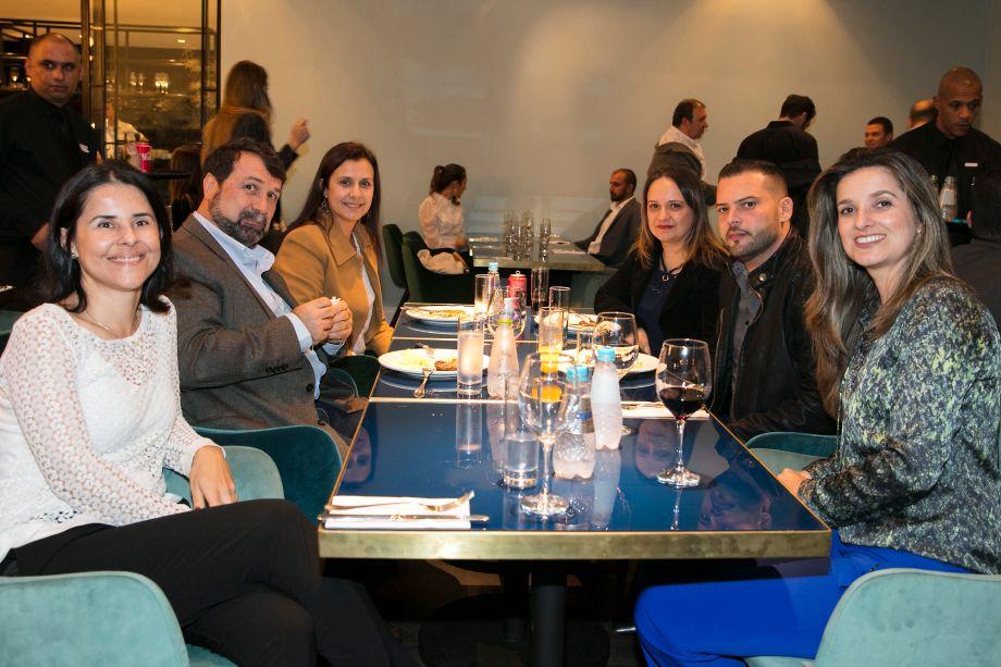Cristiane Vianna, Hercules Pereira, Carla Vasconcelos, Francisca Cleomar, Juvenal Fernando e Viviane Ribeiro
