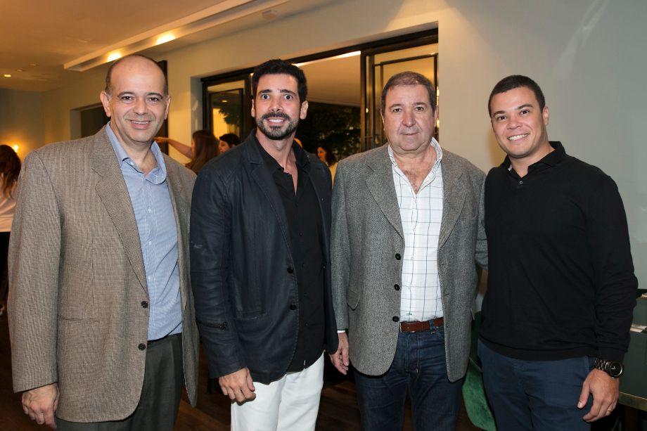 Andre Carvalho, Claudio Pinheiro, Claudio Giovavanini e Vinicius Boaventura