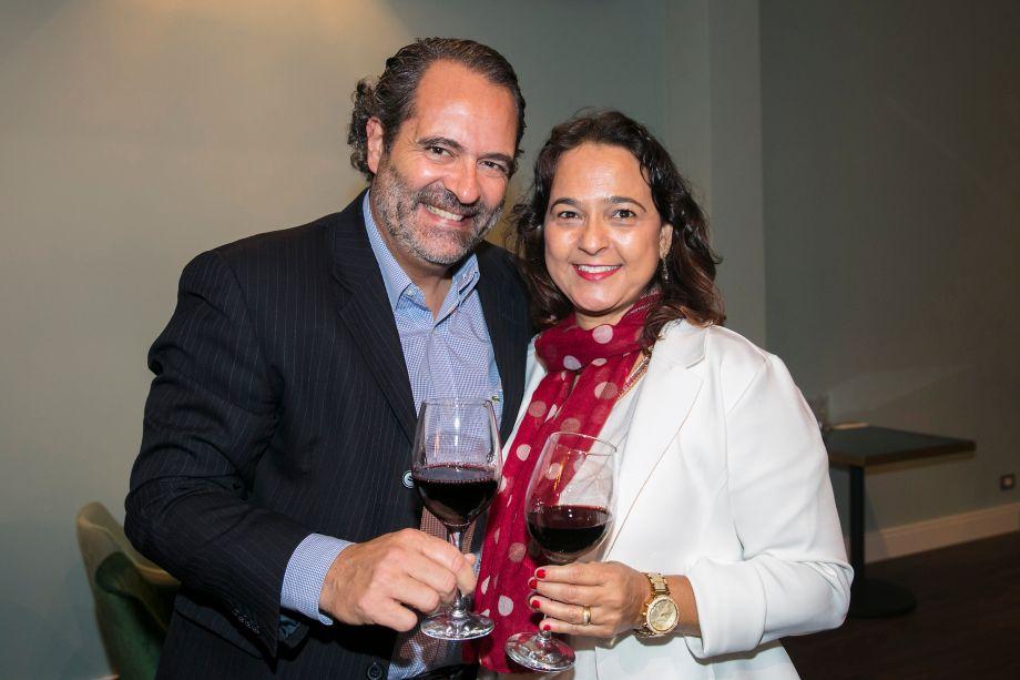 Henrique Marcondes e Maria Cecilia Marcondes