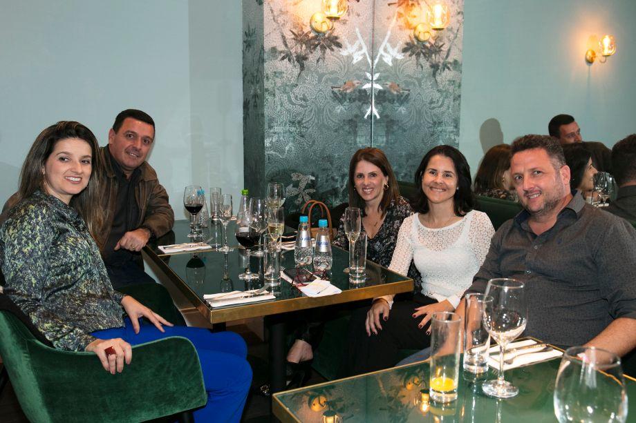 Viviane Ribeiro, Adner Benvenuto, Karina Bagnatori e Cristiane Vianna