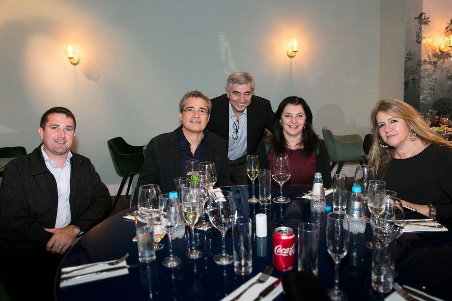 Alessandro De Mattos, Amauri Fernando Pinto, Antonio Sergio Zampieri, Ligia Maria Massini Pinto e Mariza Andrade Machado