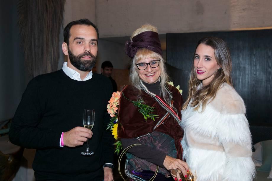 Diogo Cigarro, Gina Elimelek e Samra Akad