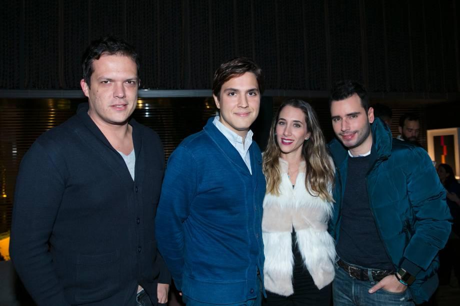 Gustavo Paschoalim, Paulo Azevedo, Samra Akad e Bruno Gap