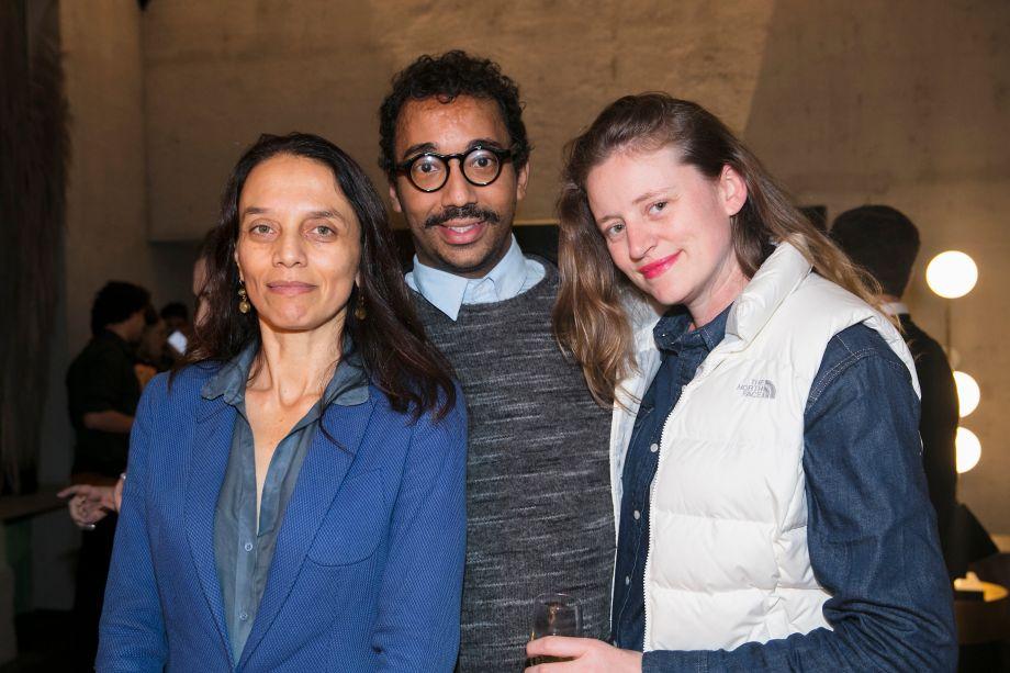 Liliana Gomes, Fernado Herbert e Vanessa Novotny