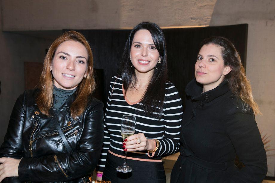 Ana Paulo Temporin, Halina Martins e Mariana Bottini